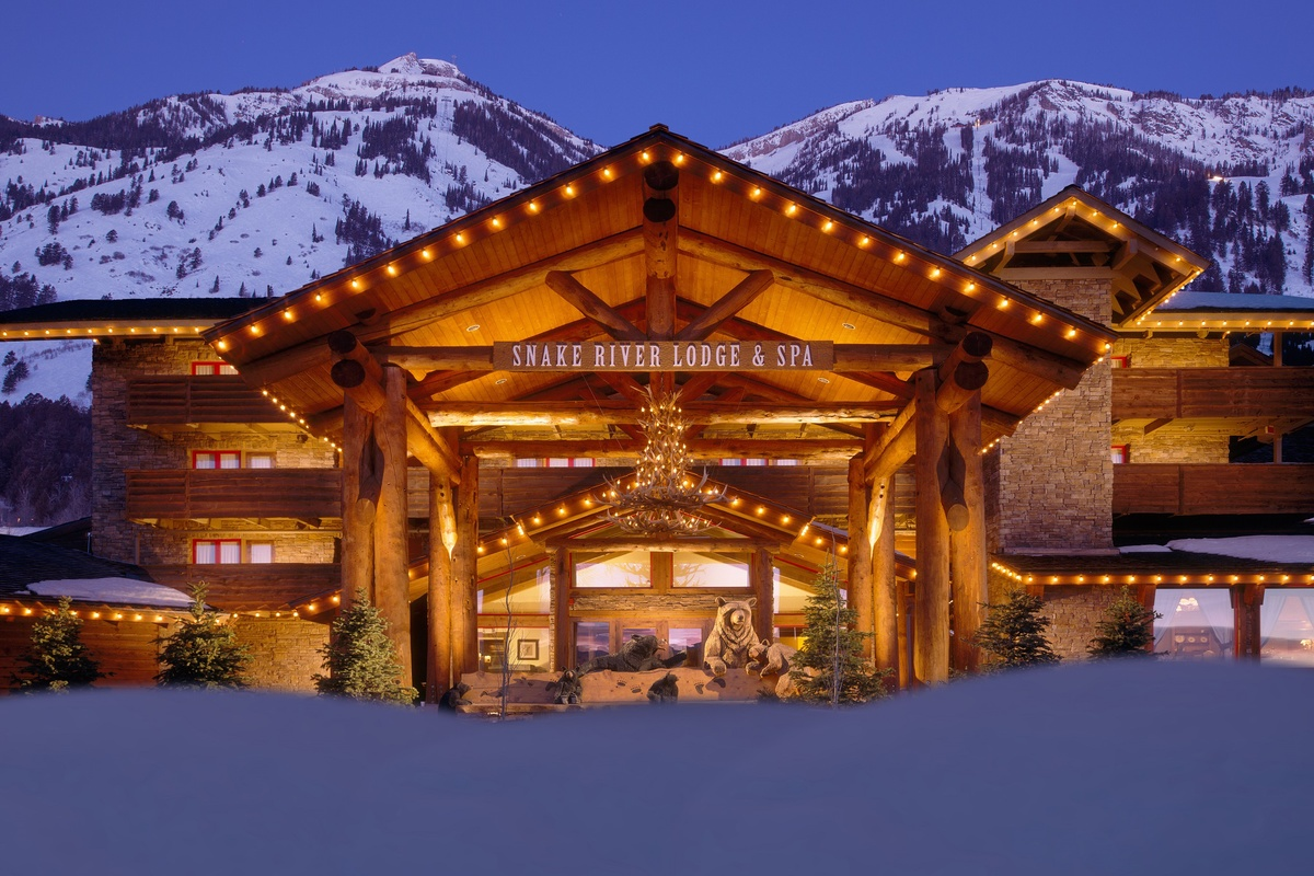 Snake River Lodge Jackson Hole Wy Architecture For Non