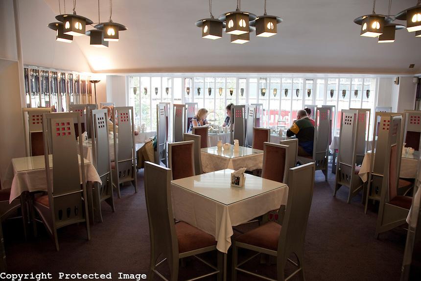 Pavilion Tea Rooms Glasgow
