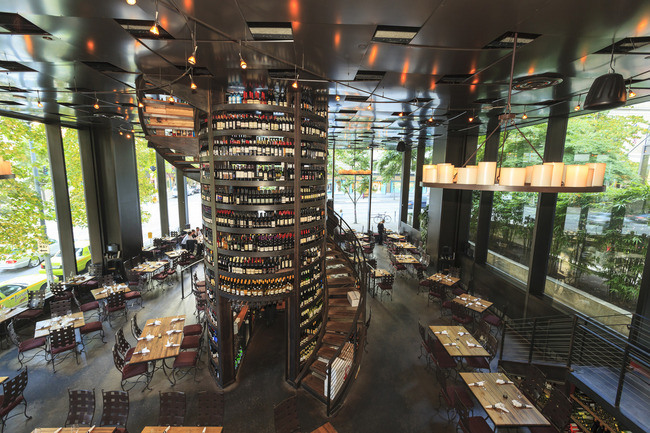 Purple Cafe And Wine Bar Seattle Wa Architecture For