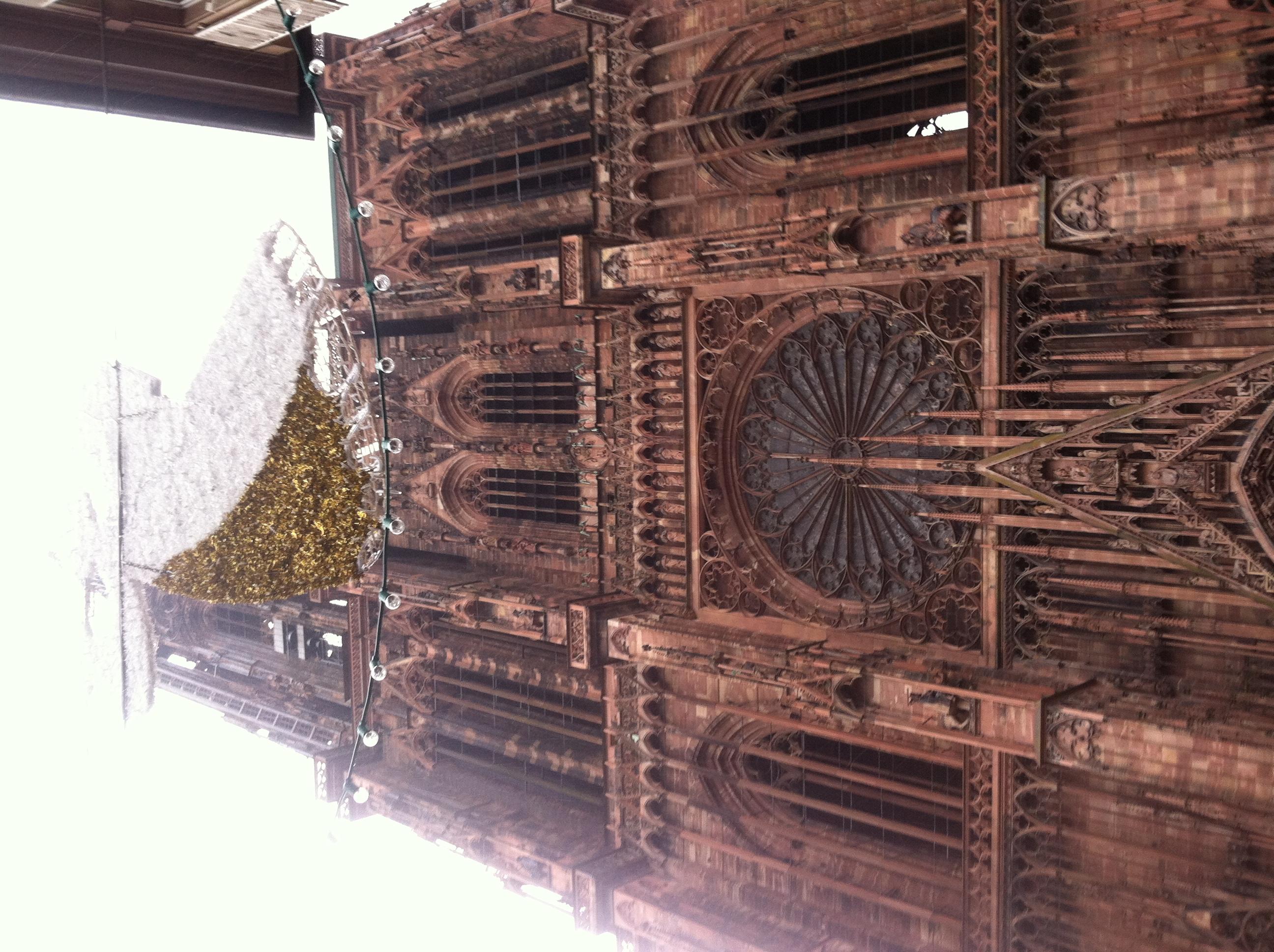 Notre dame de strasbourg architecture for non majors for Strasbourg architecture